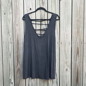 Torrid 3 Strappy Ribbed Tank Super Soft Knit